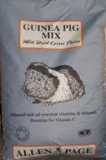 ALLEN & PAGE GUINEA PIG MIX 20kg