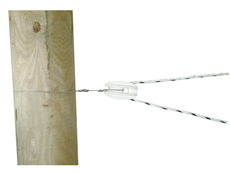 Electric Fence Strain Insulation for Rope (6 pack)