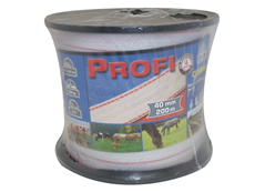 Electric Fence Tape Profi – 40mm x 200m