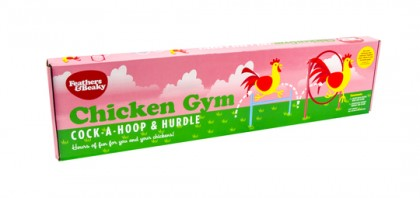 Chicken Gym, Hoop & Hurdles