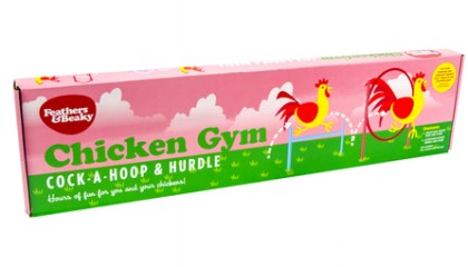 Chicken Gym, Hoop & Hurdles