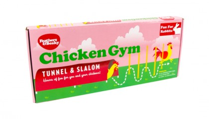 Chicken Gym, Tunnel & Slalom