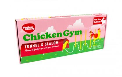 Chicken Gym, Tunnel & Slalom