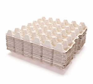 Egg trays pack 10 off grey